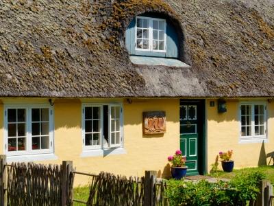 Häuser im alten Baustil