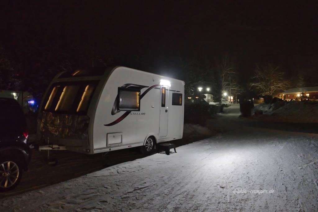 Wintercamping mit der Lunar Stellar