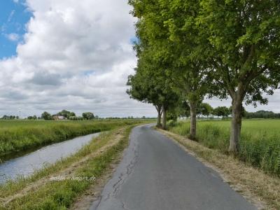 Ruhige Straßen für Radfahrer