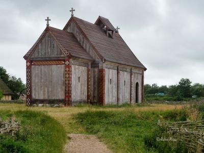 Kirche im Freilichtmuseum Ribe