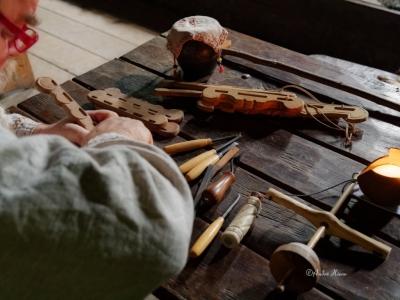 Handwerk im Freilichtmuseum Ribe