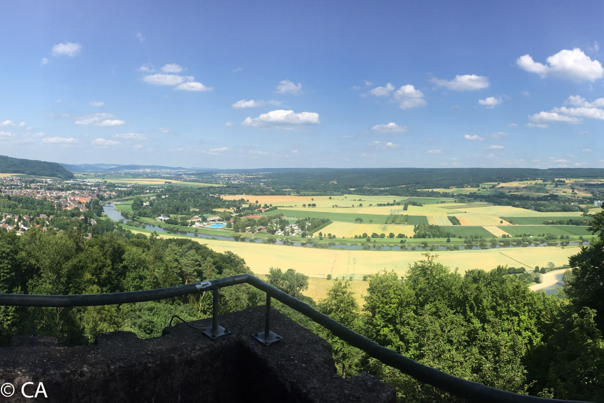 Ausblick vom Brunsberg
