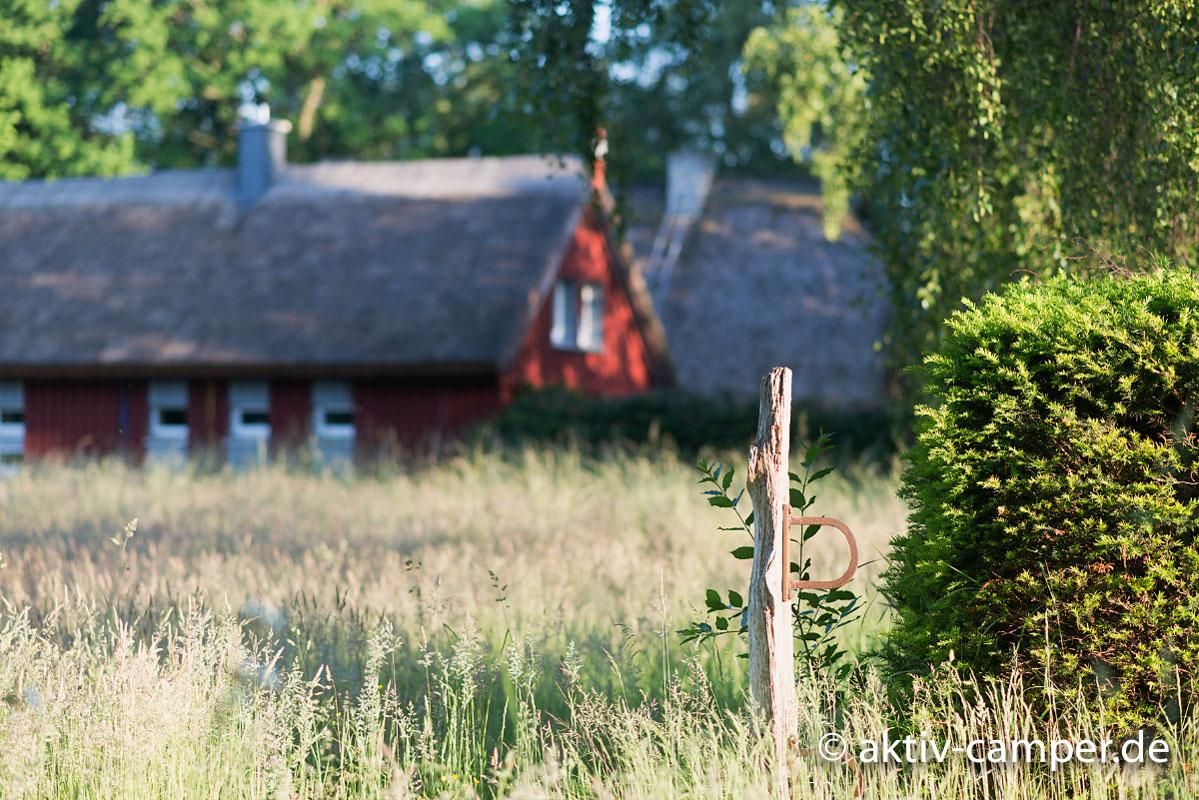 Tolle Landschaft mit urigen Häusern