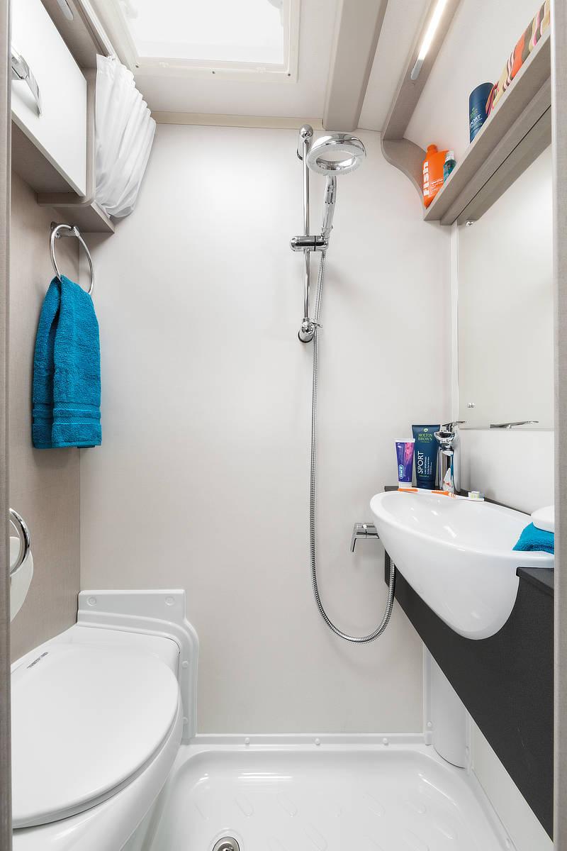 Basecamp Washroom