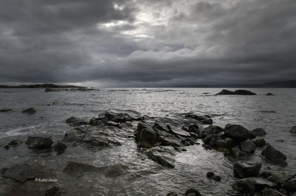 Küste von Kerry am Abend
