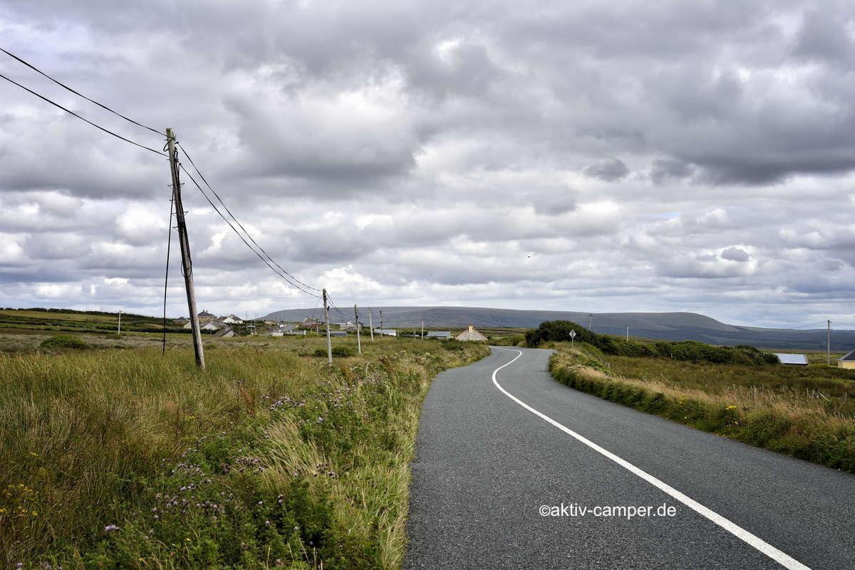 Mit dem Wohnwagen in Irland