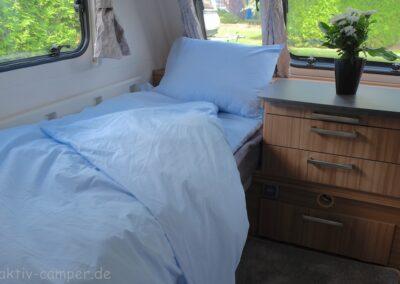 Duvalay Schlafsack als Einzelschlafplatz
