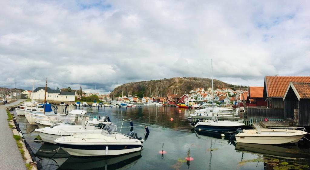 Der Hafen von Fjellbacka