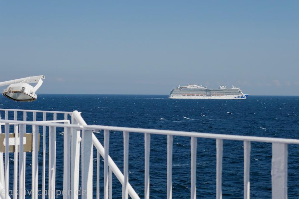 Schiffverkehr auf der Ostsee