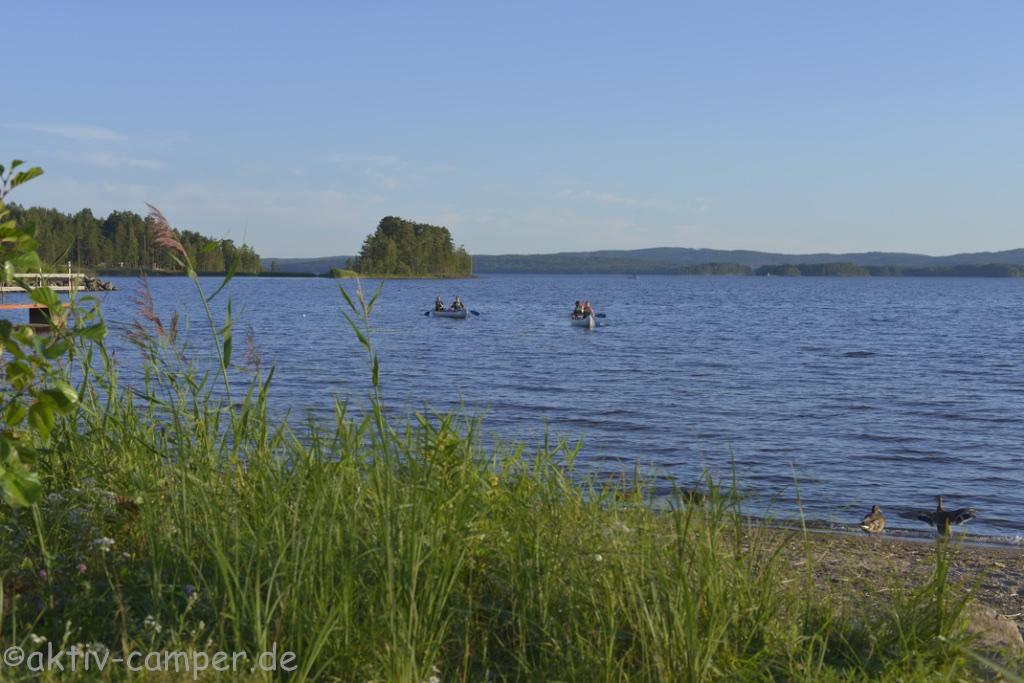 Bootfahren auf dem See