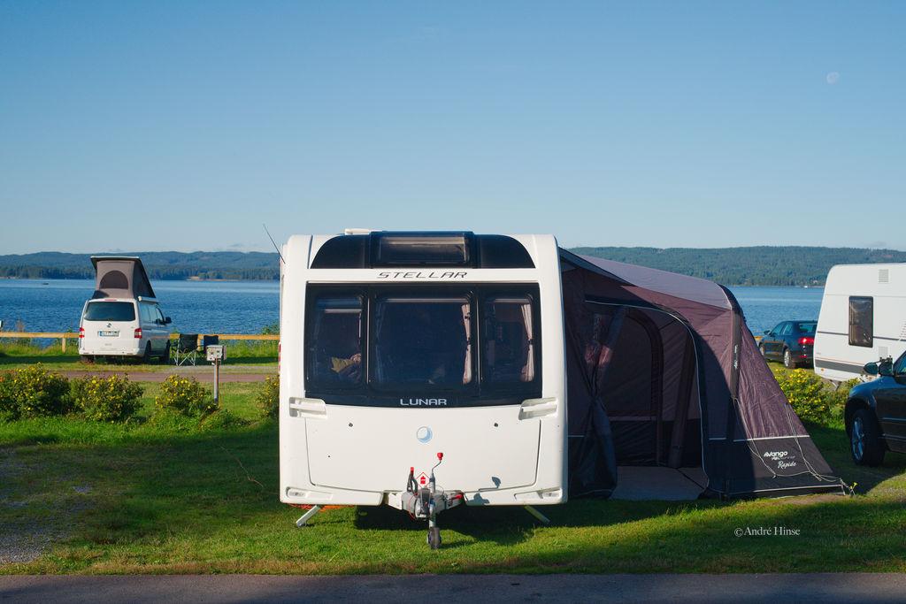 Stellplatz auf Ingestrand Camping