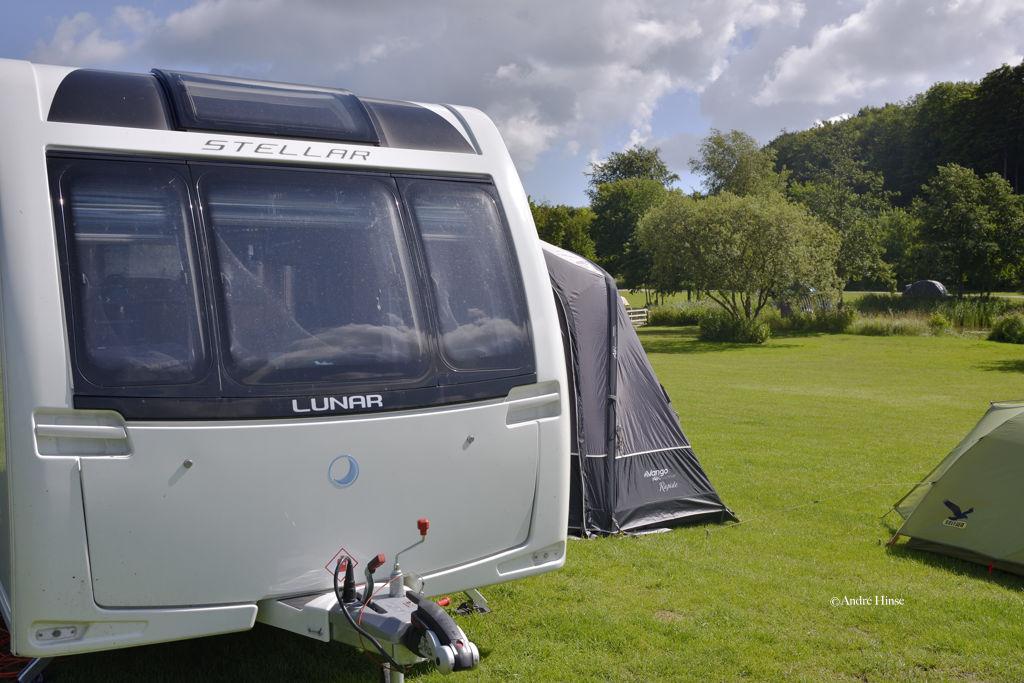 Moenchs Klint Camping in Dänemark/Skandinavien