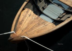 Boot im Hafen Grebbestads