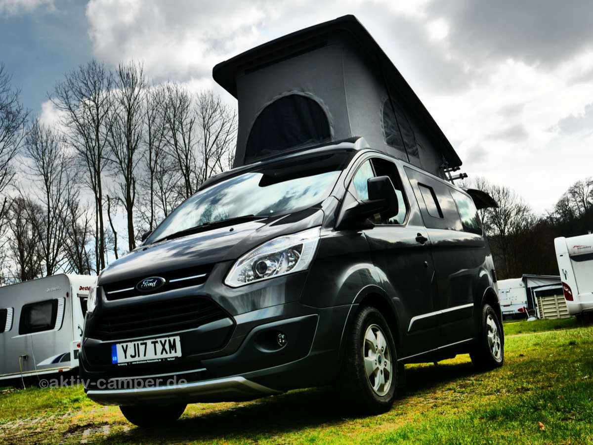 ford transit camper ausbau kaufen wohnmobilausbau mit dem. Black Bedroom Furniture Sets. Home Design Ideas