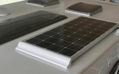 Solaranlage für den Wohnwagen
