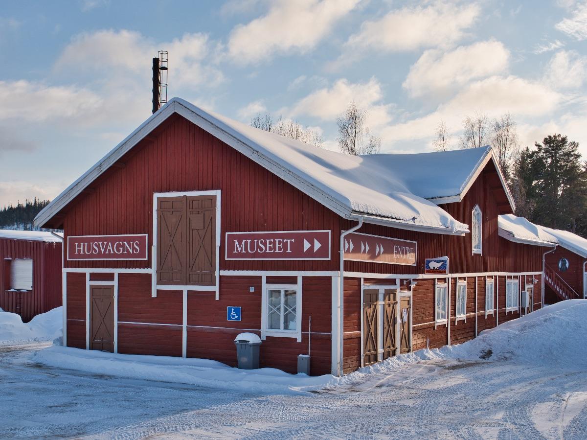 Zu Besuch bei Polar in Lappland