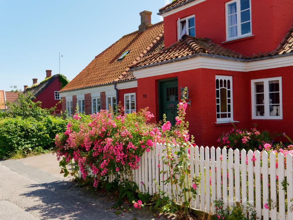 Rotes Haus auf Fanö