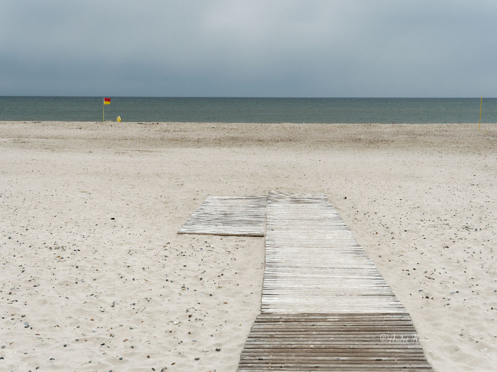 Strandansicht Hennestarnd