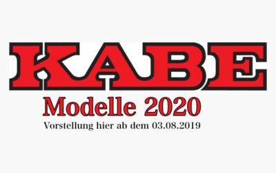 Kabe Modellpalette 2020