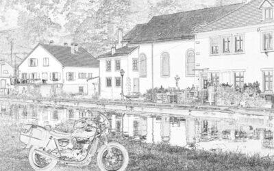 Motorradtour durch Rheinland-Pfalz und Vogesen