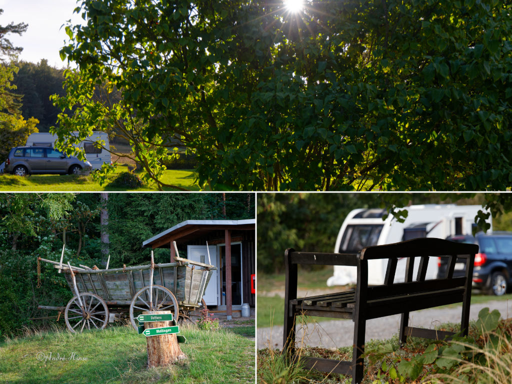 Campingplatz im Grünen