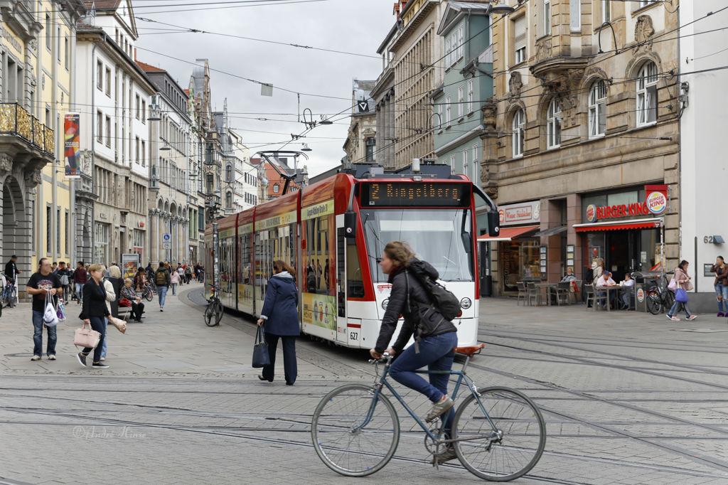 Erfurter Einkaufsstraße