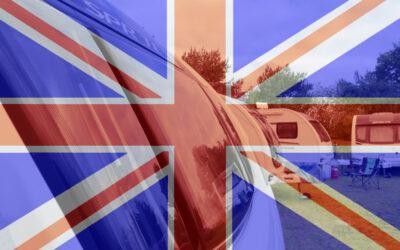 Treffen der Freunde englischer Wohnwagen