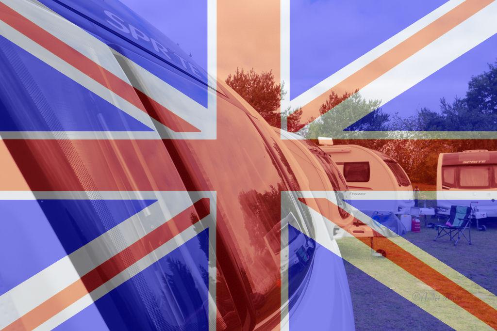 Sprite Parade mit England-Fahne