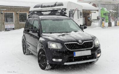 Ratlos im Schnee