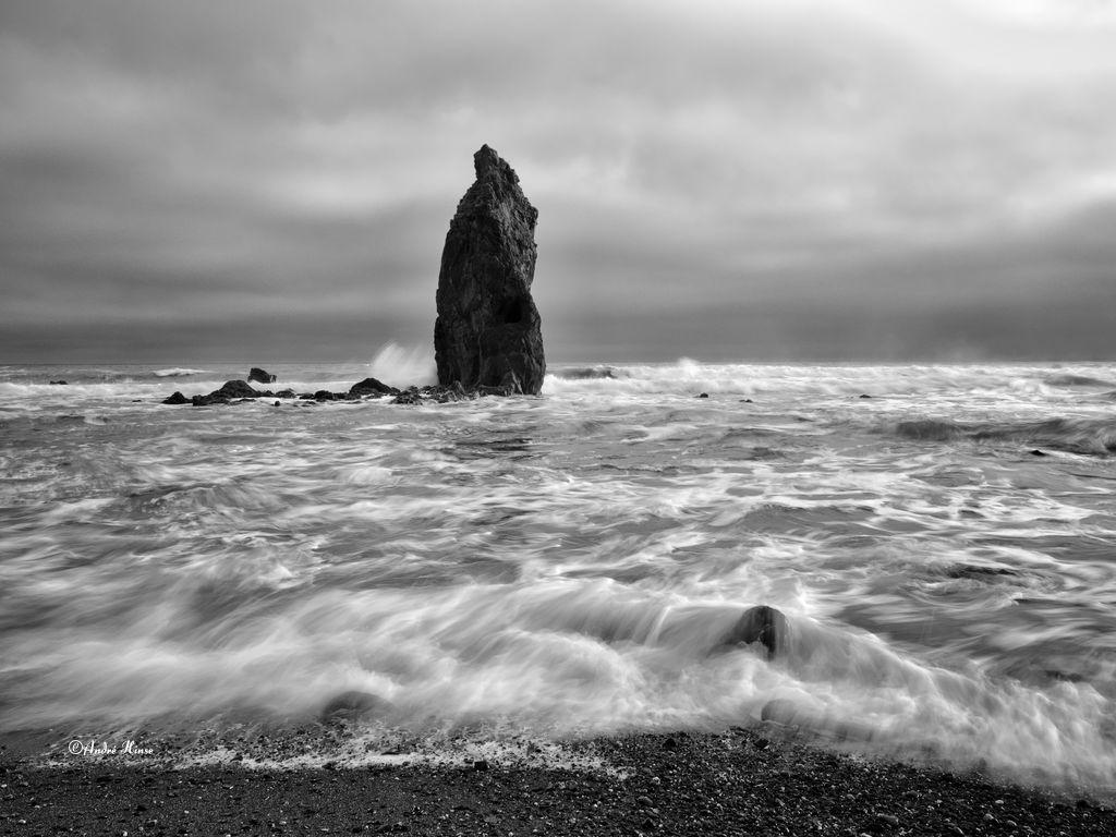Dolmen an der Küste