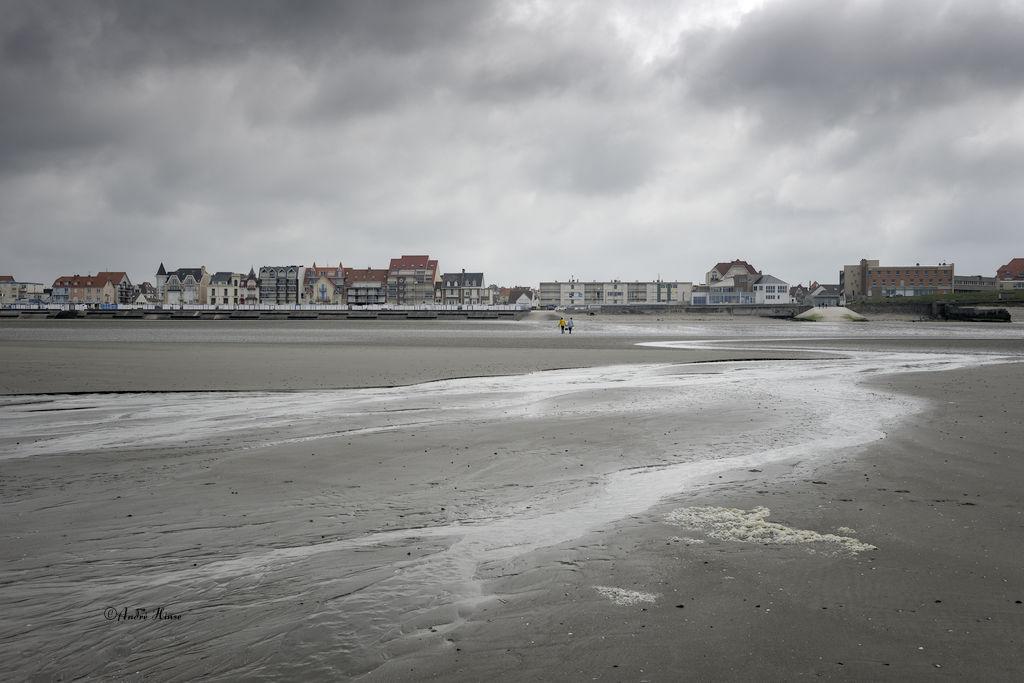Die Küste von Wimereux