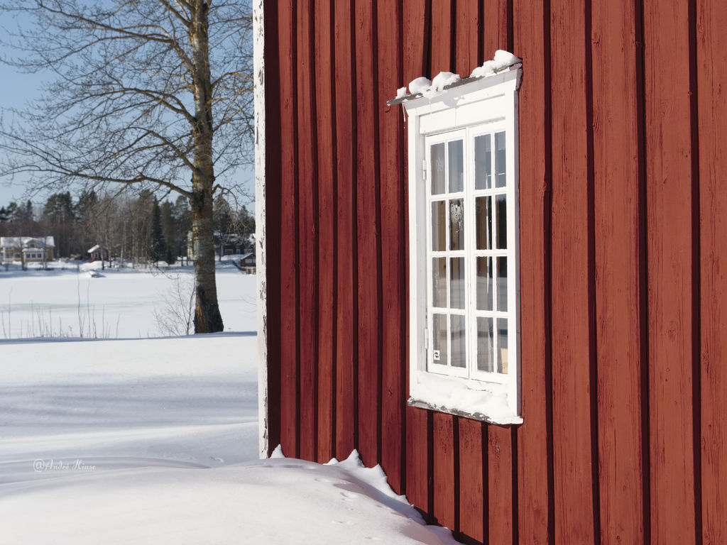 Winterlandschaft in Scheden