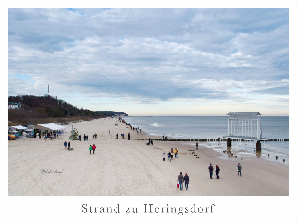Strand zu Heringsdorf