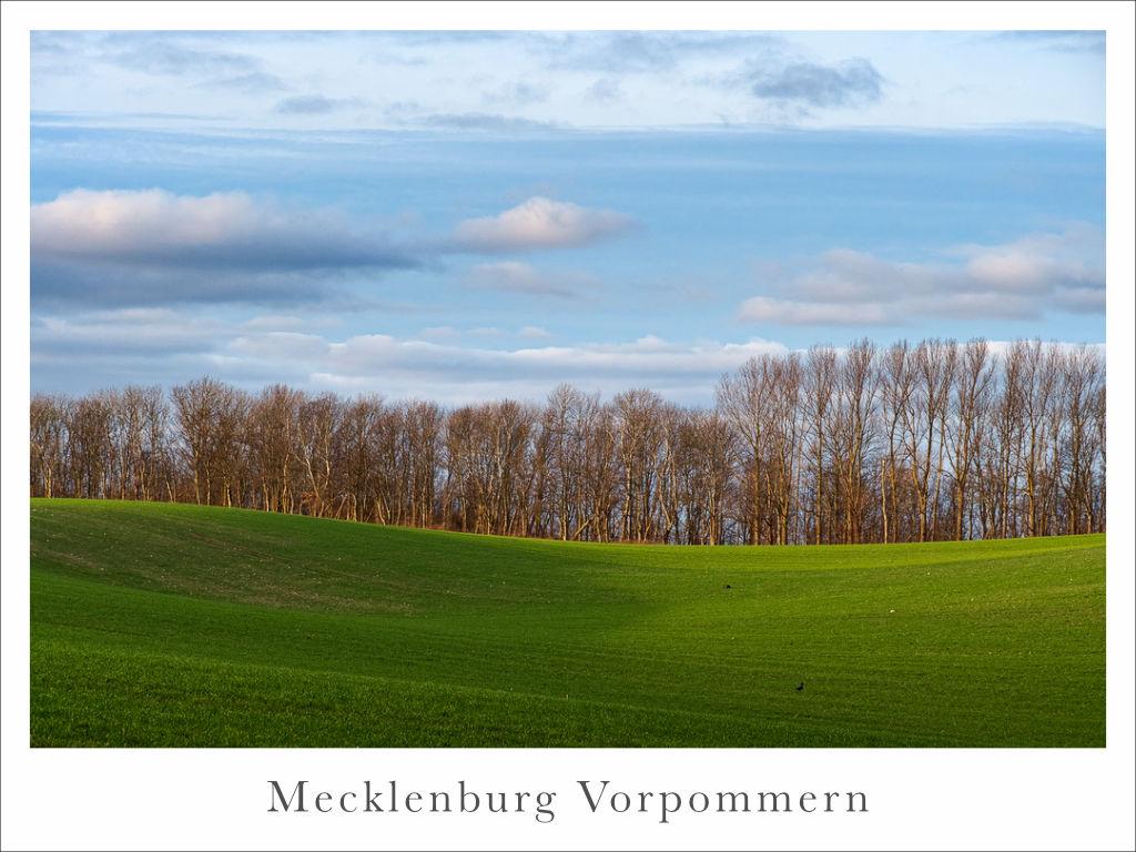 Landschaft in Mecklenburg Vorpommern