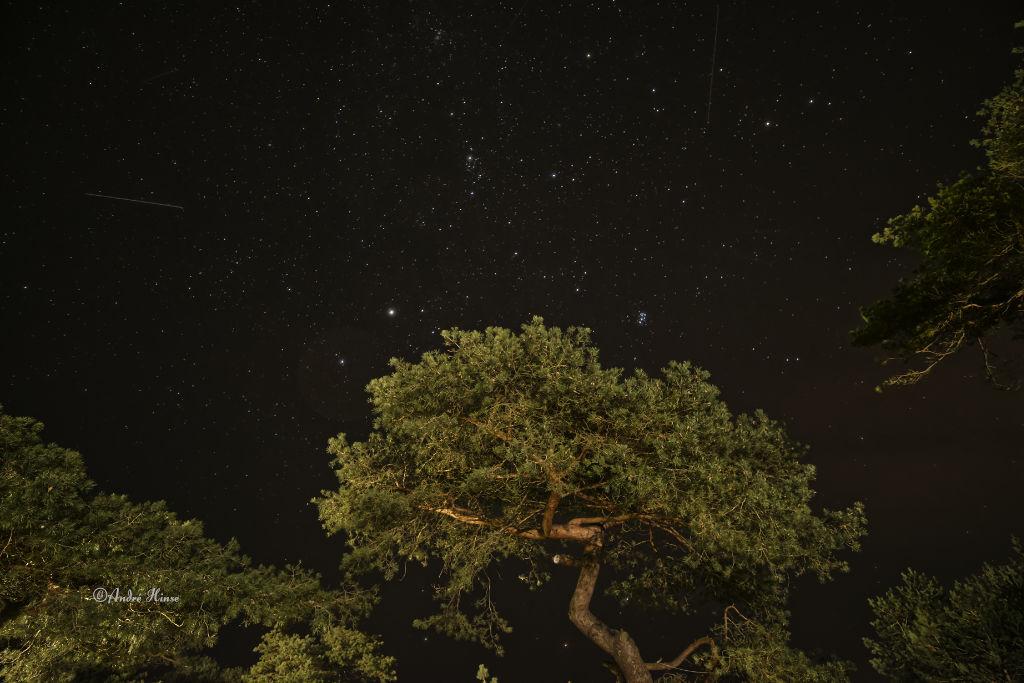 Sterne über Kap Arkona