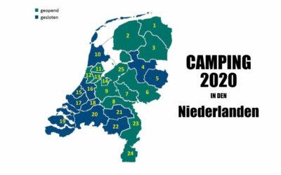 Camping in den Niederlanden im Frühjahr 2020