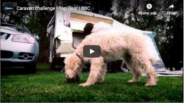 Caravan Challenge von Top Gear
