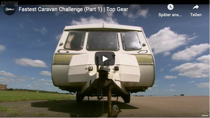 Fastes Caravan Video von Top Gear