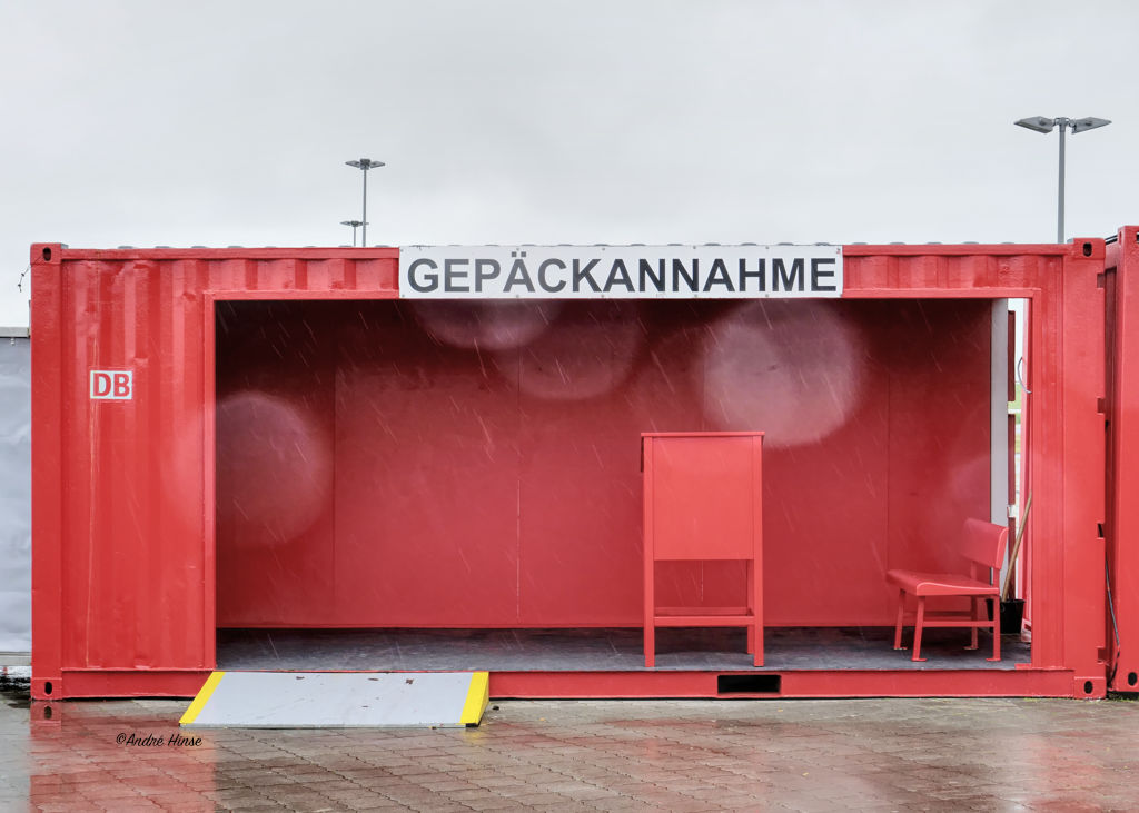 Gepäckabfertigung für Wangerooge