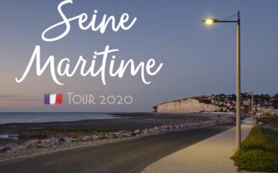 Wohnwagentour in die Seine Maritime