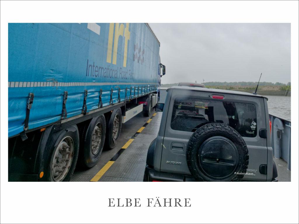 Elbe Fähre bei Wischhafen