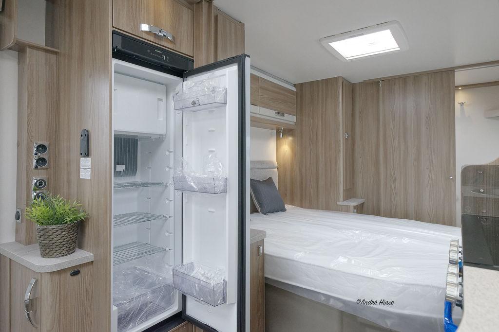 Sicht auf den Slim Tower Kühlschrank