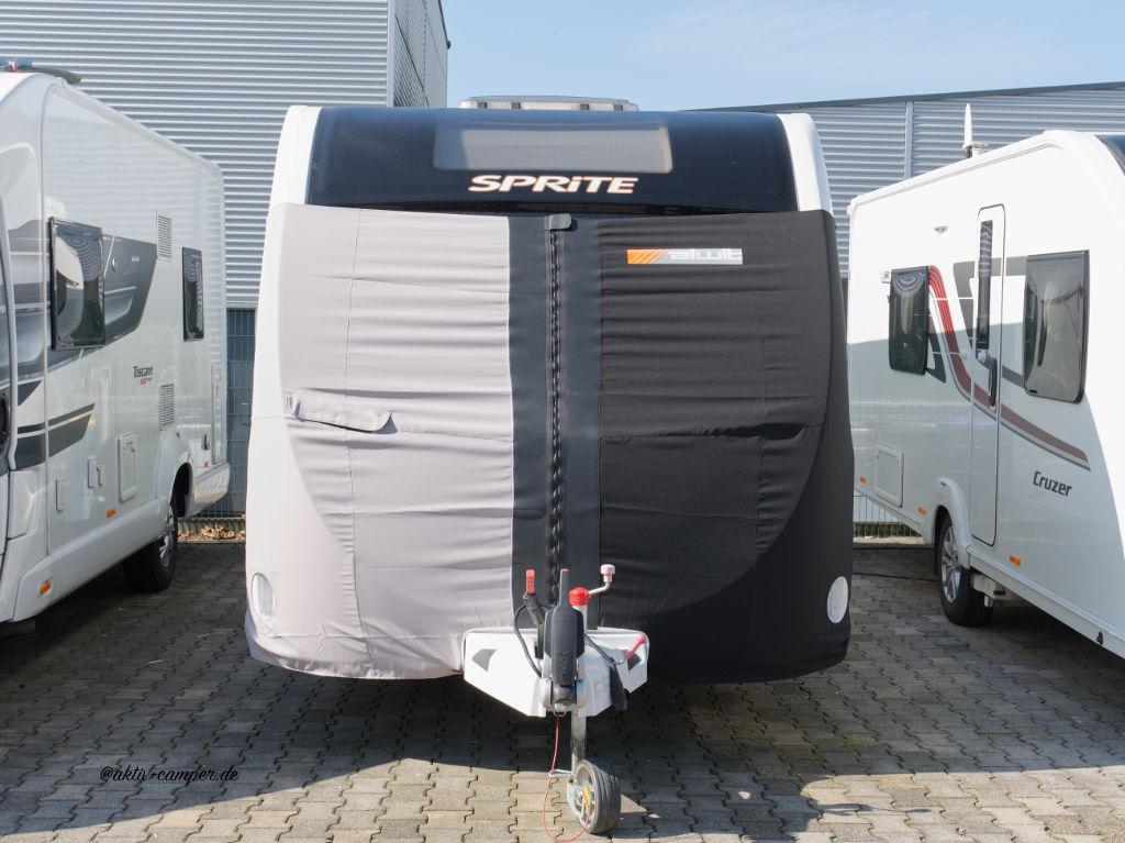 Fahrschutzplanen von Alwit für englische Wohnwagen
