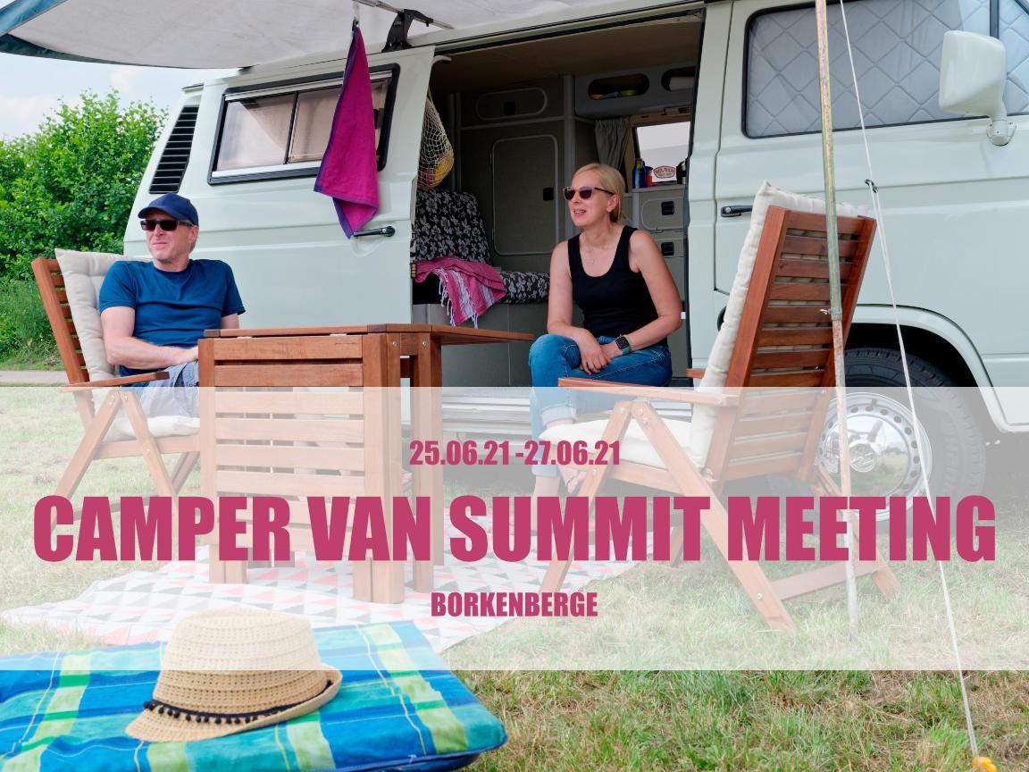 Campervan Summit Meeting in Borkenberge