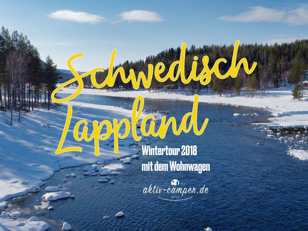 Schwedisch Lappland im Winter als Bildershow