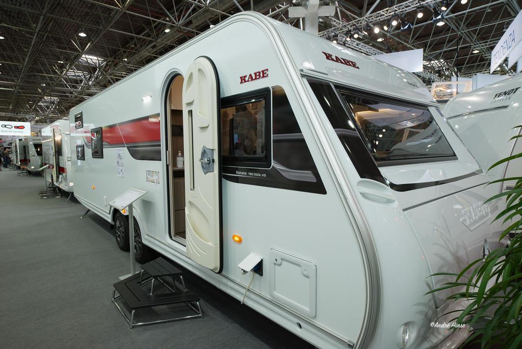 Kabe_Wohnwagen auf dem Caravan Salon