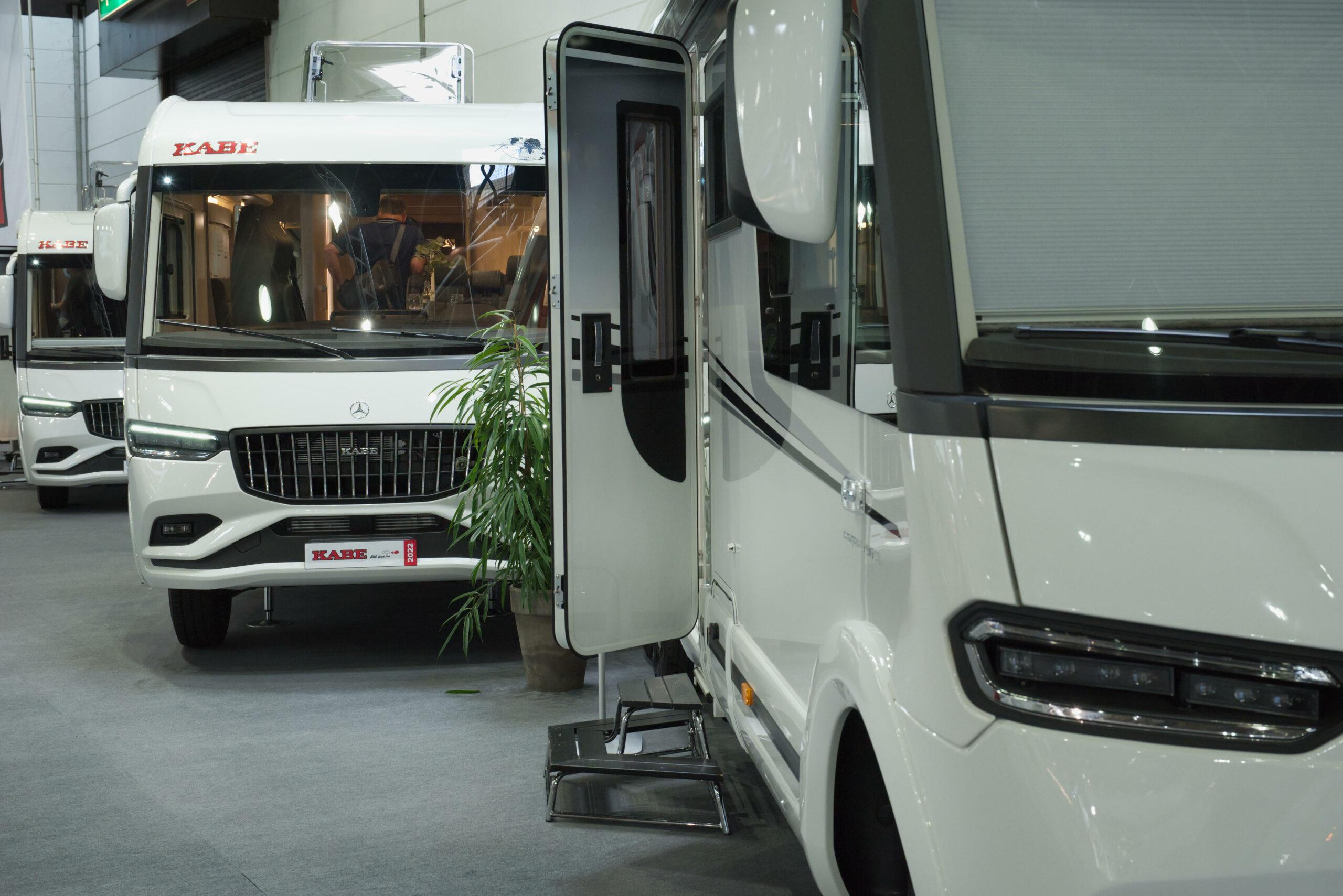 Kabe Wohnmobile auf dem Caravan Salon