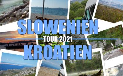 Reise nach Kroatien und Slowenien im Herbst
