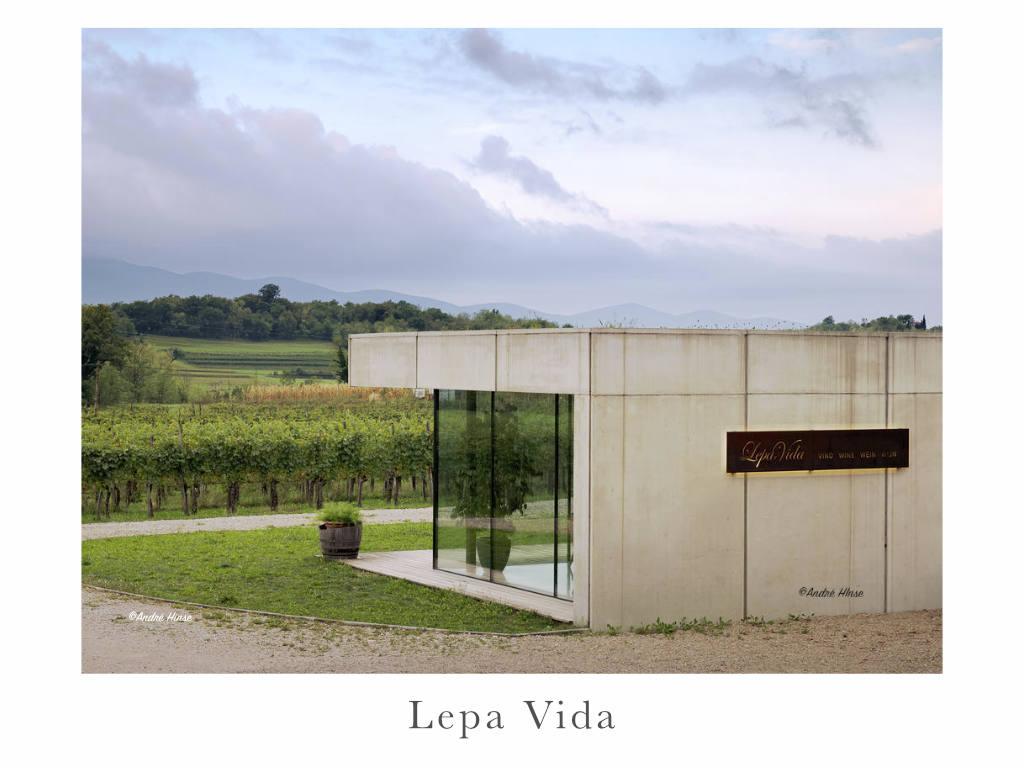 Das Weingut Lepa Vida in Slowenien