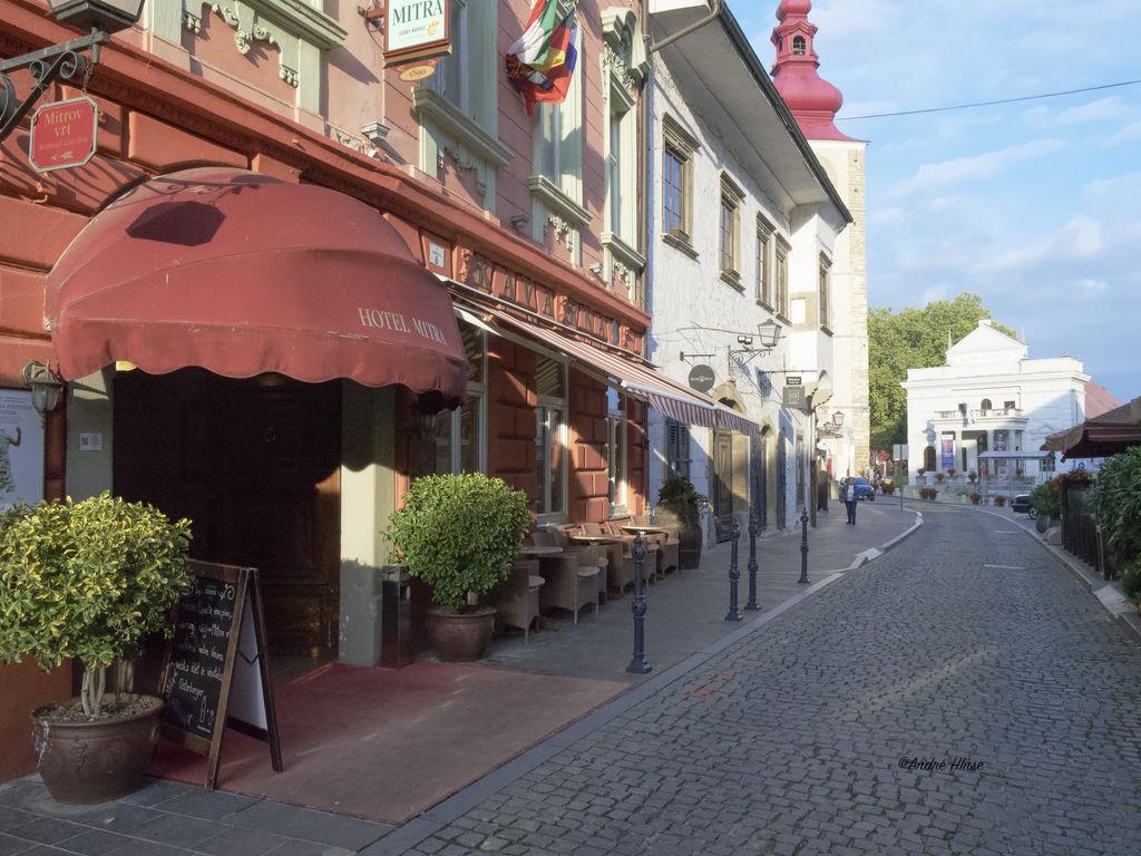 Die Altstadt von Ptuj in Slowenien